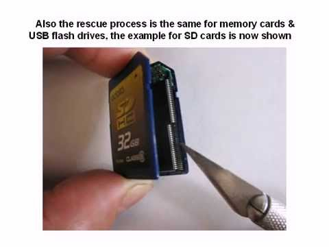 SD SDHC CF xD memory card & USB flash drive data recovery