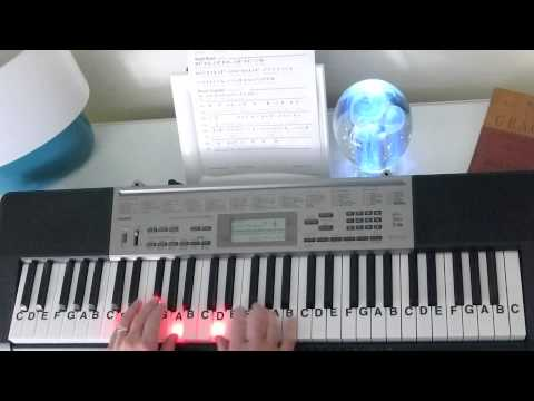 How To Play ~ Joy To The World ~ Christmas Carol ~ LetterNotePlayer ©