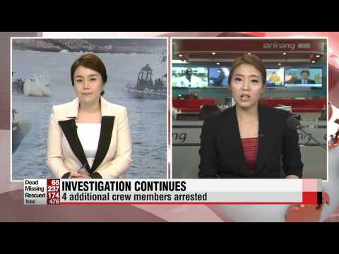 EARLY EDITION 18:00 Korean ferry disaster: Day 6 of search & rescue efforts Expert's view