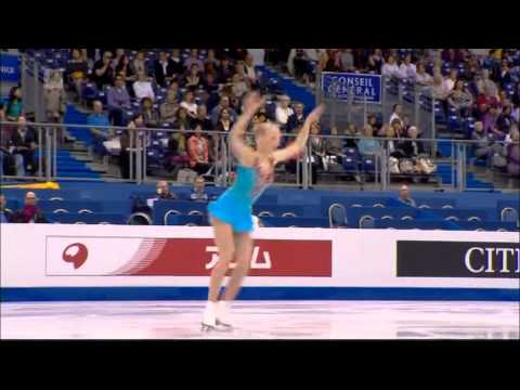 Juulia Turkkila - 2012 World Figure Skating Championships in Nice - Short Program