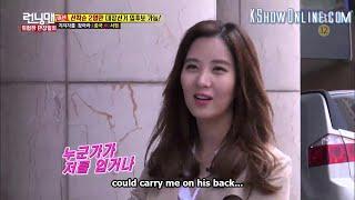 [ENGSUB] Running Man Episode 293 Seohyun SNSD Girl's Generation Support Kim Jong Kook