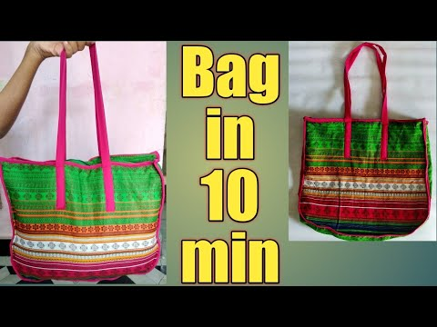 How To Make Simple DIY Bag at Home With Step By Step Tutorial