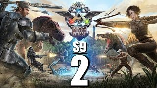 Ark Survival of the Fittest S9 #2 BADABUMM! [ Gameplay German | Let