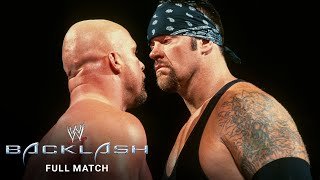 "FULL MATCH - ""Stone Cold"" Steve Austin vs. Undertaker  – WWE Title No. 1 Contender's Match"