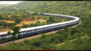 Karnataka Express led by Itarsi Twins WDM-3A and WDM-3D ' GAJRAJ '