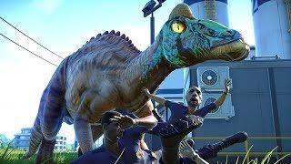 Ein ausgebrochener Dinosaurier in meinem Park! ☆ Jurassic World Evolution