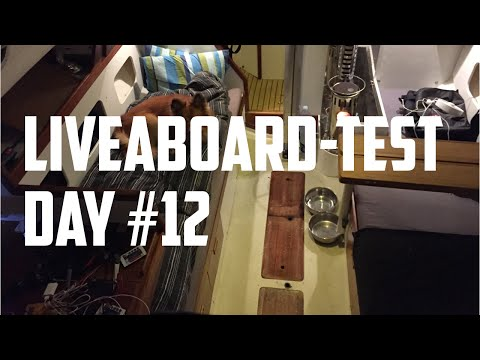 Sail Life - Liveaboard test day 12. leaky keel stepped mast