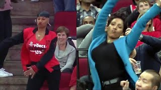 Dance-Off at Basketball Game Features Backpack Kid's Signature Move