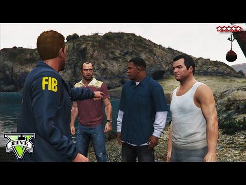 GTA 5 FIB Terrorism Heist! - GTA 5 Funny Moments Campaign Ep #13