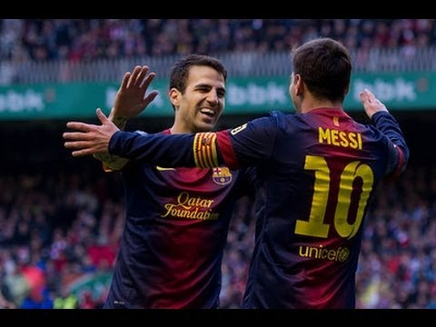 Athletic Bilbao vs Barcelona 2-2 | Full Match 27.04.2013 HD