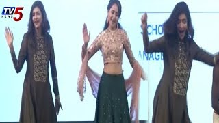 Manchu Lakshmi and Pragya Jaiswal Teenmar Beat Dance @ Mohan Babu Birthday Celebrations