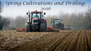 Spring Cultivations and Drilling 2016 - Sugarbeet Drilling