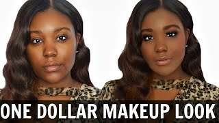 Drugstore Makeup Tutorial - Dollar Tree Makeup Challenge