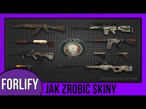 Jak Zrobić Skin Do Broni W CS GO [Counter Strike Global Offensive] - GIMP - Po Polsku