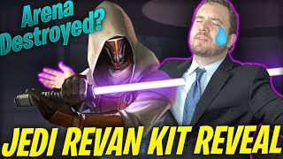 Jedi Knight Revan Kit Reveal! - Overpowered AF? (GIF Review) | Star Wars: Galaxy of Heroes