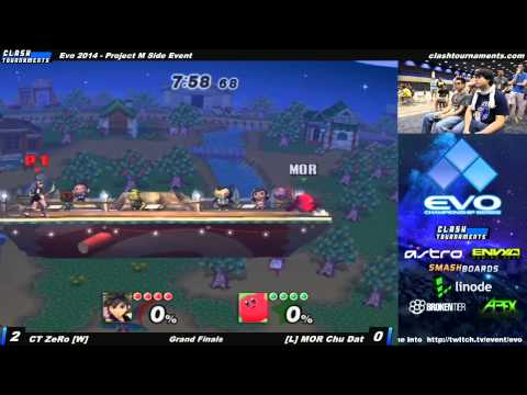 Evo 2014 - CT ZeRo vs MOR Chu Dat - Grand Finals - Project M