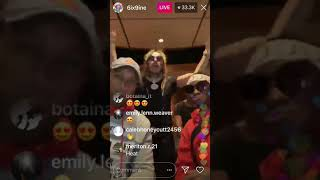 "6ix9ine previews new song ""STOOPID"""