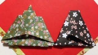折り紙 お雛様 折り紙 立体 : 折り紙 ひな祭り お雛様 雛人形 ...