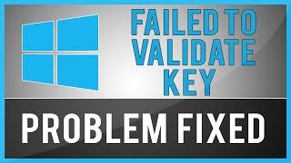 Windows 8.1 - Setup Has Failed To Validate The Product Key (Problem Fix)