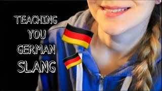 ASMR TEACHING YOU GERMAN SLANG ✌️