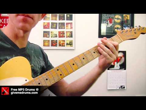Midnight Memories ★ One Direction ★ Guitar Riff Lesson - Easy How To Play Tutorial