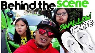 BEHIND THE SCENE SWALLOW WHITE X MCLAREN 570S ( #60secondsrhymes )