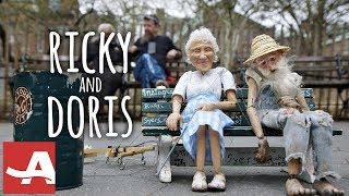 Ricky & Doris: An Unconventional Friendship in New York City. With Puppets!   AARP