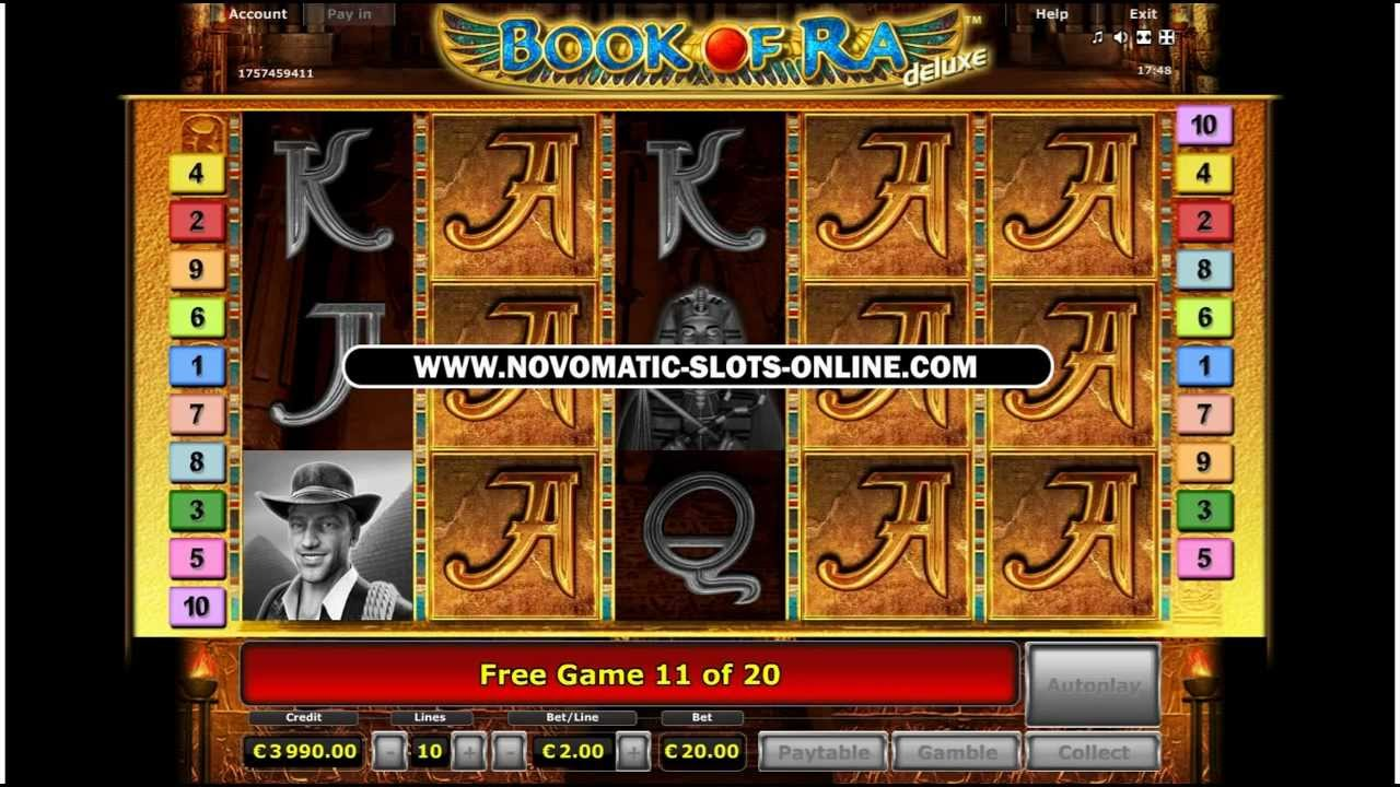 casino online play book of ra for free