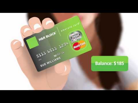 H&R Block Emerald Mobile Banking App℠ and Emerald Online Account