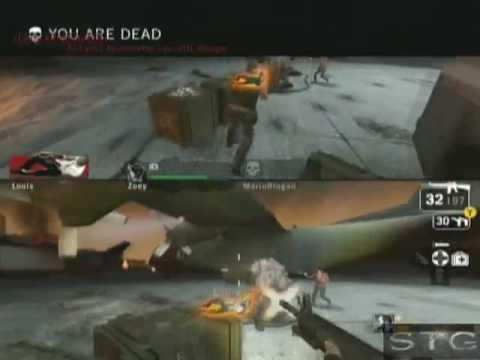 Left 4 Dead Walkthrough 20 - Dead Air - Runway Finale