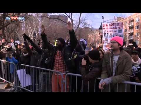 60 ألفا في تظاهرة نيويورك