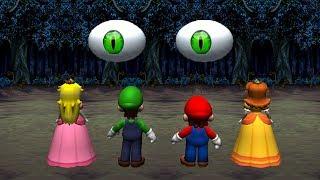 Mario Party 8 MiniGames - Peach Vs Luigi Vs Mario Vs Daisy (Master CPU)