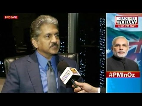 Anand Mahindra speaks about PM Modi's debut at G-20 summit