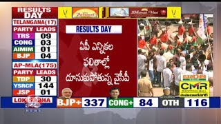 Election Results 2019   YSRCP Crosses Its Exit Poll Results   Andhra Pradesh   V6 News