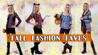 Fall Fashion Faves!