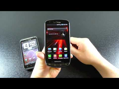 Samsung Droid Charge and HTC Thunderbolt: Unboxing