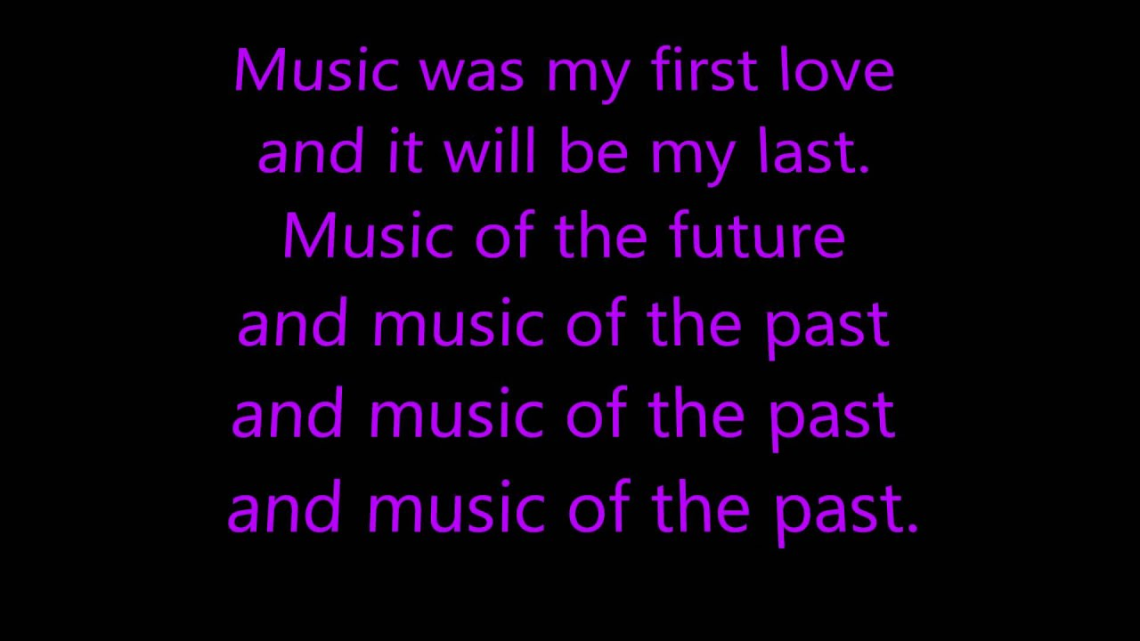 music was my first love john miles lyrics karaoke