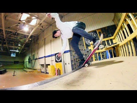 Ethernal Skate Films / Shoot All Skaters session X Homies @ Local Skatepark (Victoriaville)
