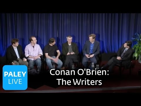 Late Night with Conan O'Brien - The Work of the Writers (Paley Center, 2007)