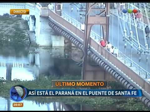 Crecida del rio Paraná - Telefe Noticias