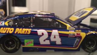 NASCAR Diecast Review- Chase Elliott 2017 Napa Auto Parts Chevrolet 1:24