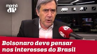 Em Davos, que Bolsonaro pense nos interesses estratégicos do Brasil   Marco Antonio Villa