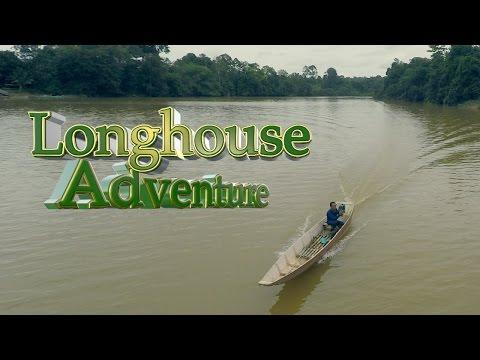 Borneo Longhouse Adventure- Aerial Videos Malaysia