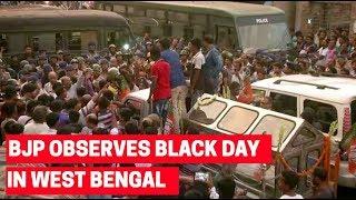 BJP observes 'Black Day' in West Bengal, 12-hour-bandh in Basirhat