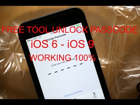 Tool Read Passcode Ios 6/iOS 9 All devices Working 100%