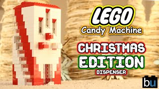 Lego Candy Dispenser Christmas Cookie Edition