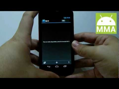 Como configurar una red wifi en Android Jelly Bean