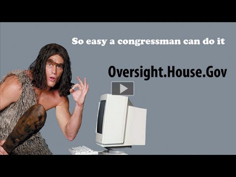 So Easy a Congressman Can Do It!