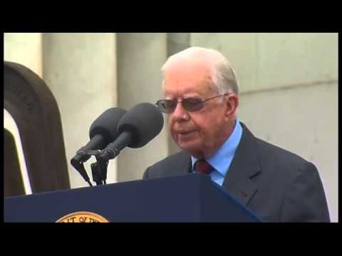▶ President Jimmy Carter Speaks at 50th Anniversary of the March on Washington