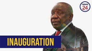 WATCH LIVE Cyril Ramaphosa inaugurated as South African president